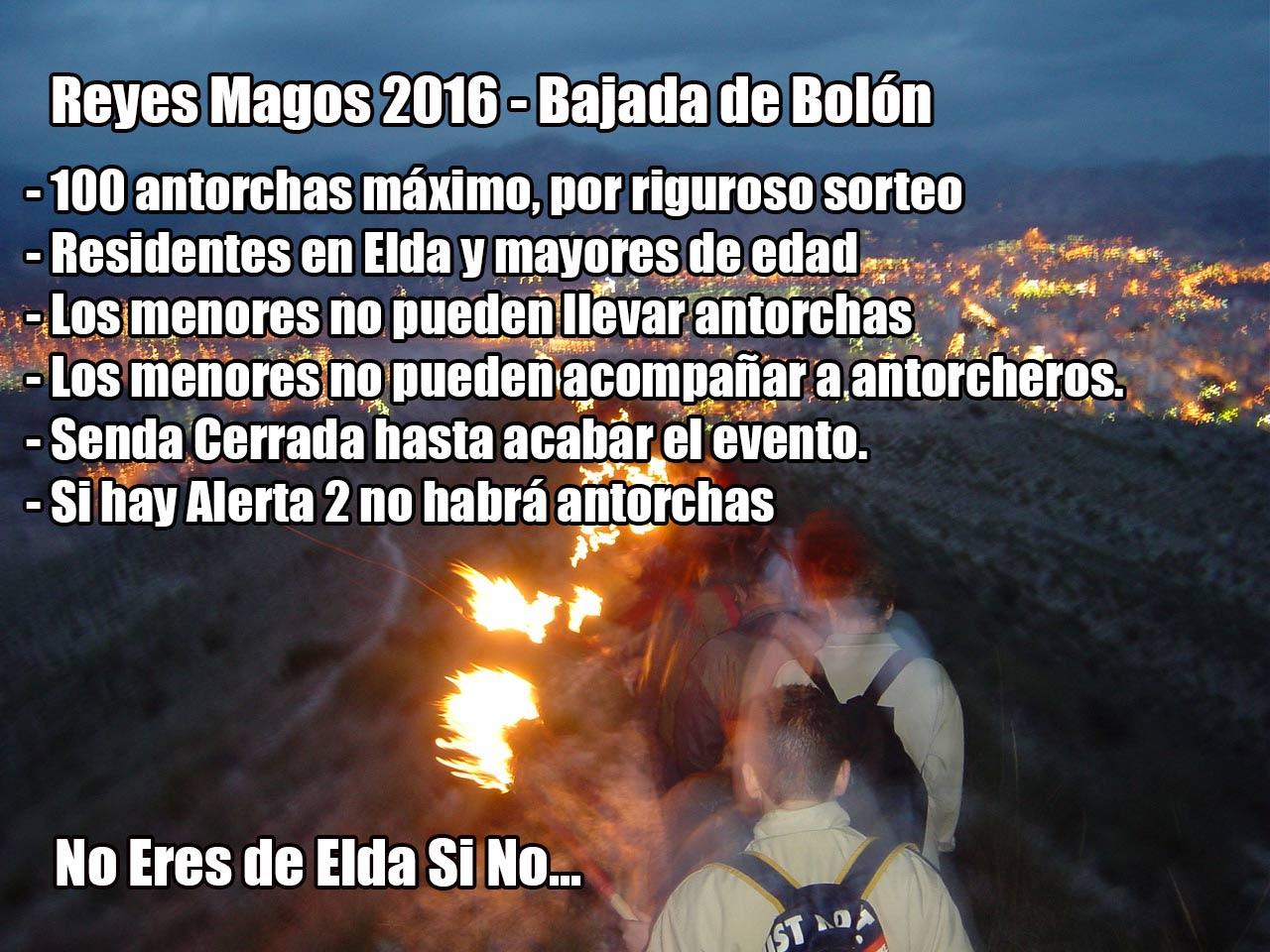 bolon reyes 2016 normativa