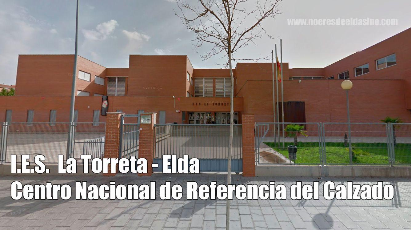 IES TORRETA ELDA CENTRO CALZADO ELDA