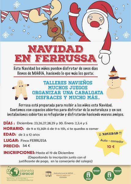 Vuelve la Escuela de Navidad a Ferrusa | No Eres De Elda Si No.