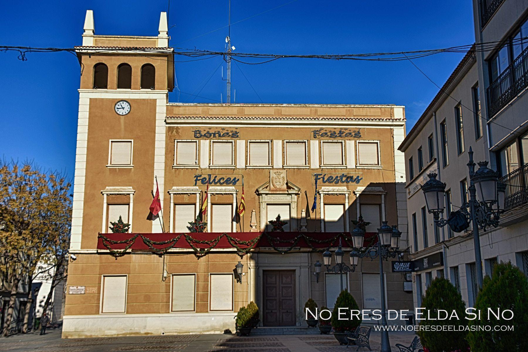 Felices Fiestas Bones Festes Ayuntamiento de Elda
