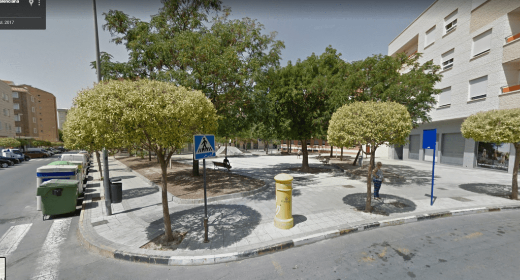 Plaza Teófilo del Valle Elda