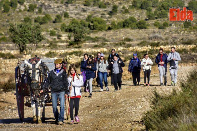 Ruta de la Hoguera de San Antón