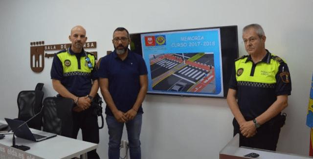 Noticias Elda - Memoria curso escolar 2017-2018 Policía