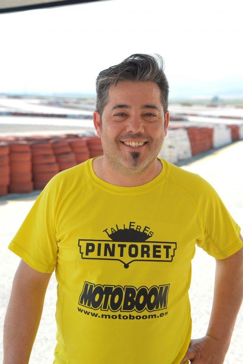 """Noticias Petrer - Nacho """"Pintoret"""" al Supermotard"""