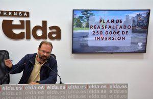 Noticias Elda - Reasfaltado Elda 2018