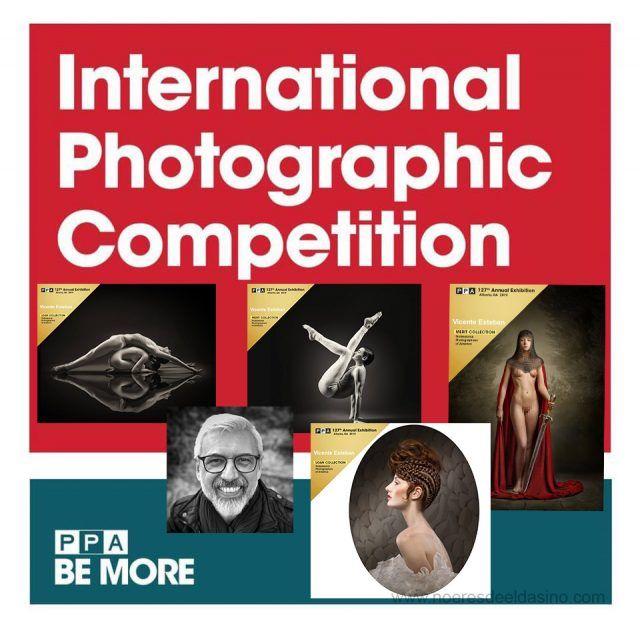 Vicente Esteban, medallista de oro en la competencia fotográfica internacional PPA