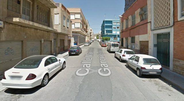 Calle Maximiliano García Soriano en Elda