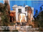 Belén Monumental Benéfico Junta Mayor de Cofradías de la Semana Santa Eldense