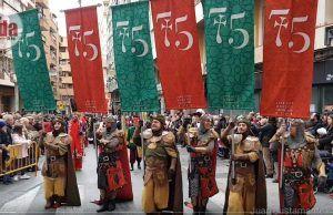 Desfile de la Media Fiesta - Elda - 2019