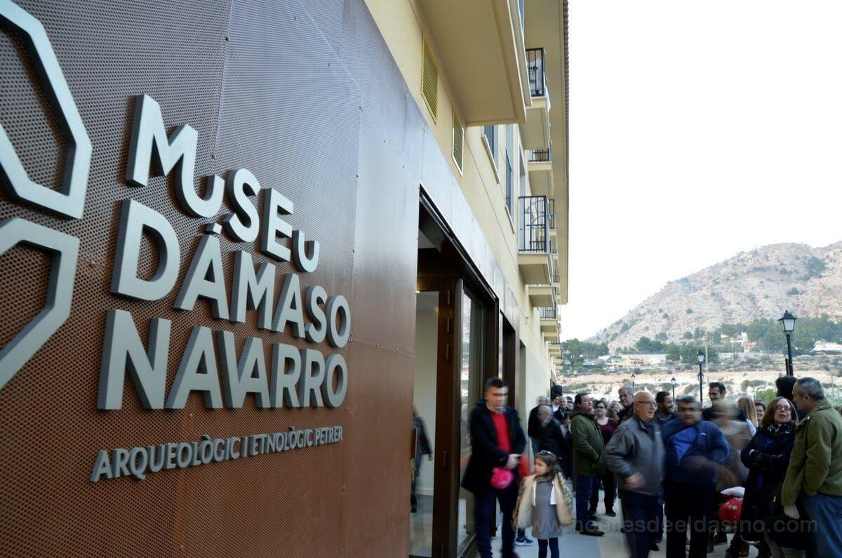 Inauguración Museo Dámaso Navarro en Petrer