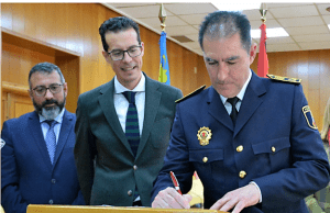 Francisco Cazorla Comisario Principal de la Policía Local de Elda