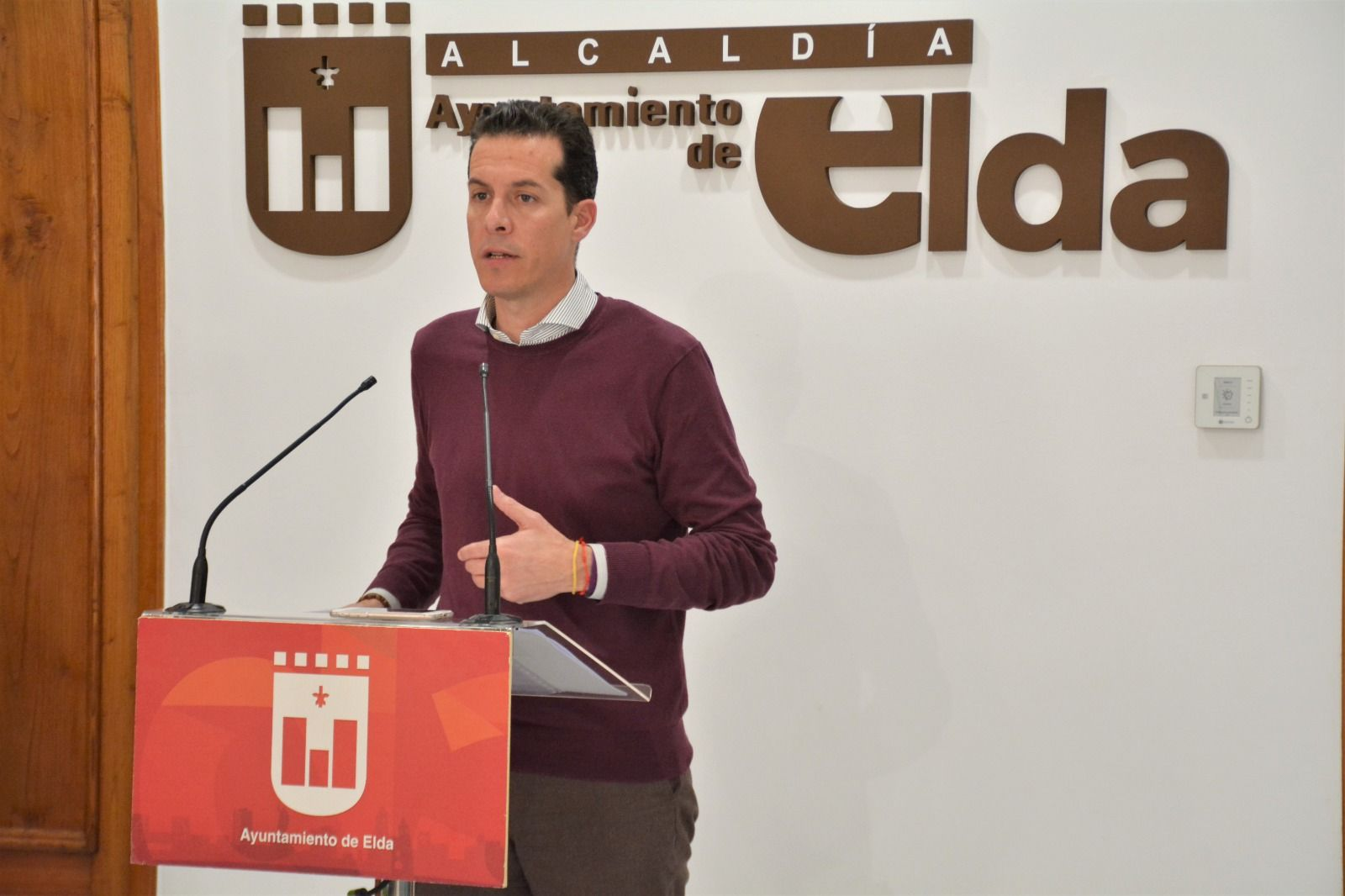 Rubén Alfaro alcalde de Elda