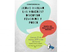 Conferencia para analizar las características del discurso femenino