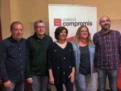 Lista electoral Compromís Elda - 2019