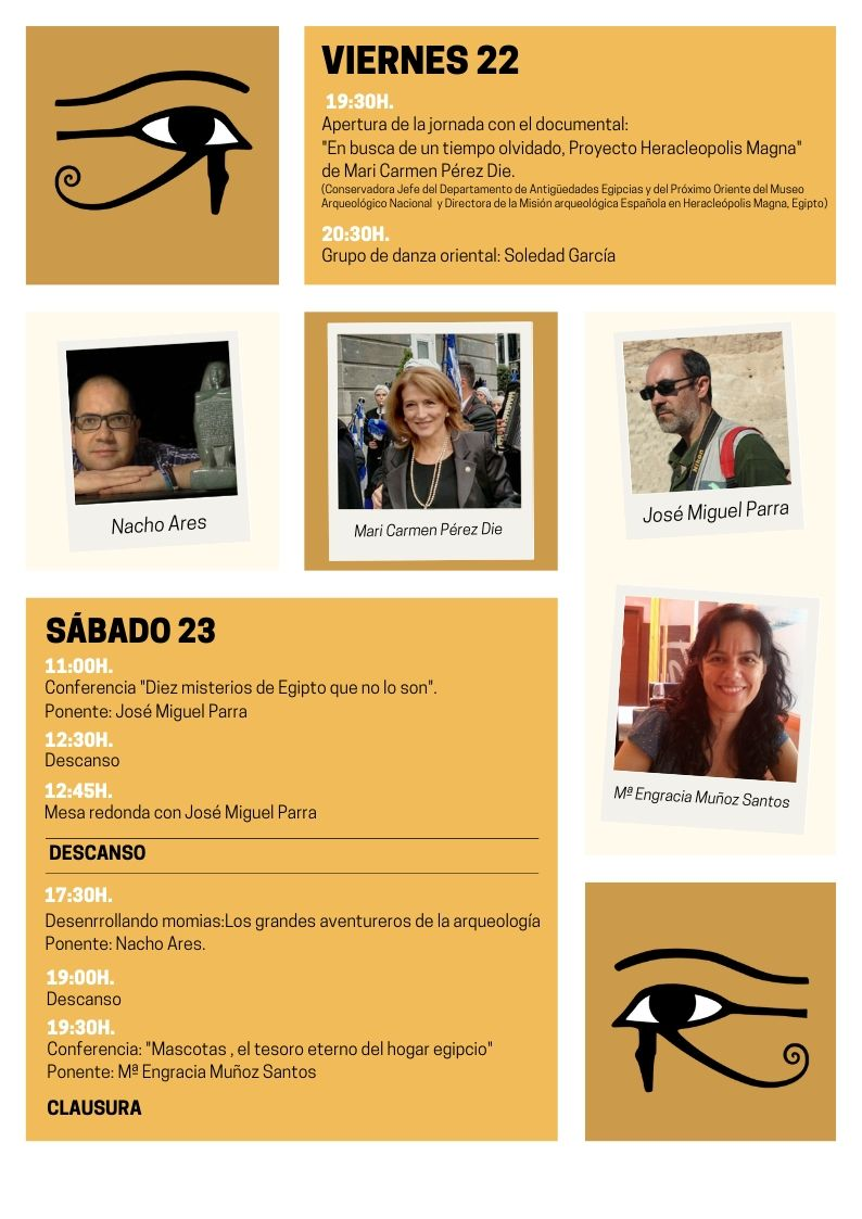 2ª Jornada de Egiptología Ciudad de Elda