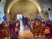 "104 turistas estadounidenses del crucero ""Jewel"" visitaron Petrer"