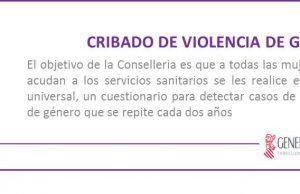 Cribado violencia de género
