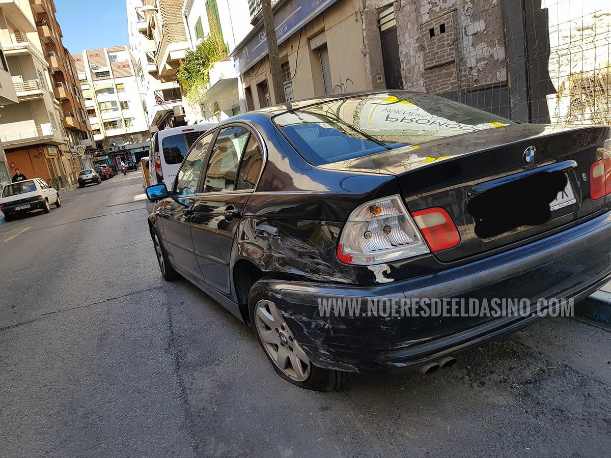 Daños en vehículos en Elda