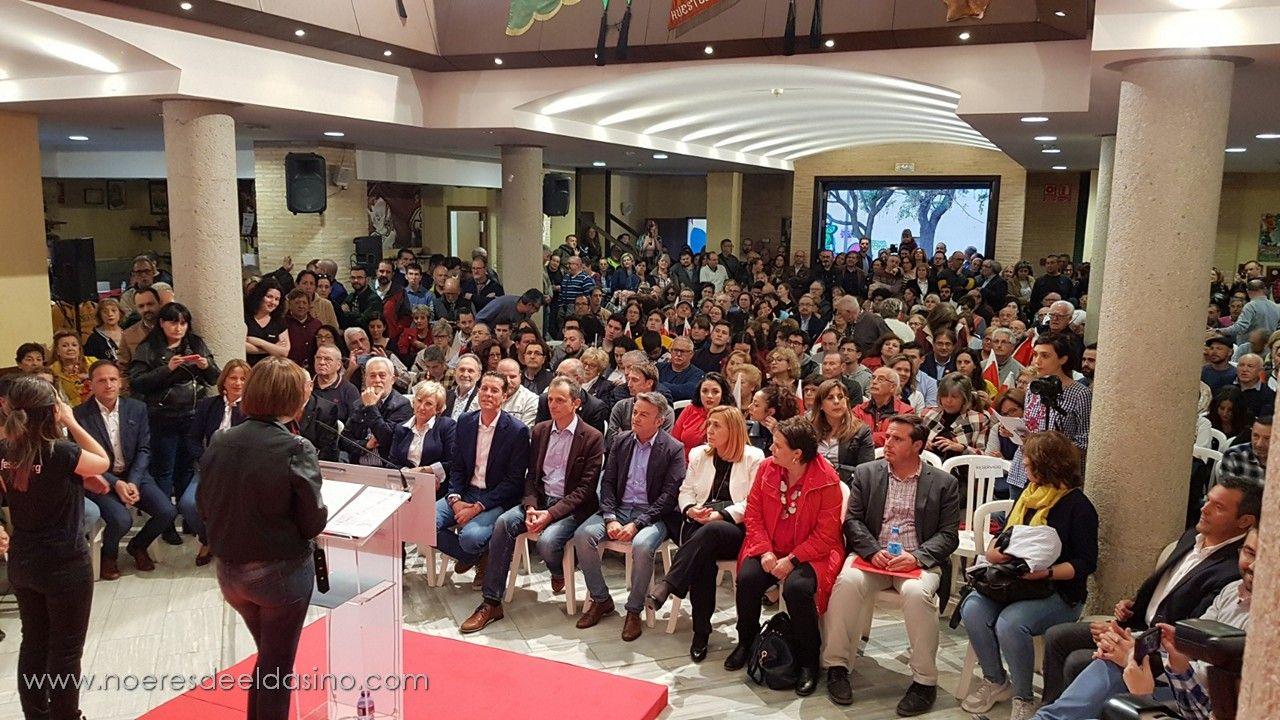 Rubén Alfaro presenta su candidatura a la Alcaldía de Elda ante más de 800 personas