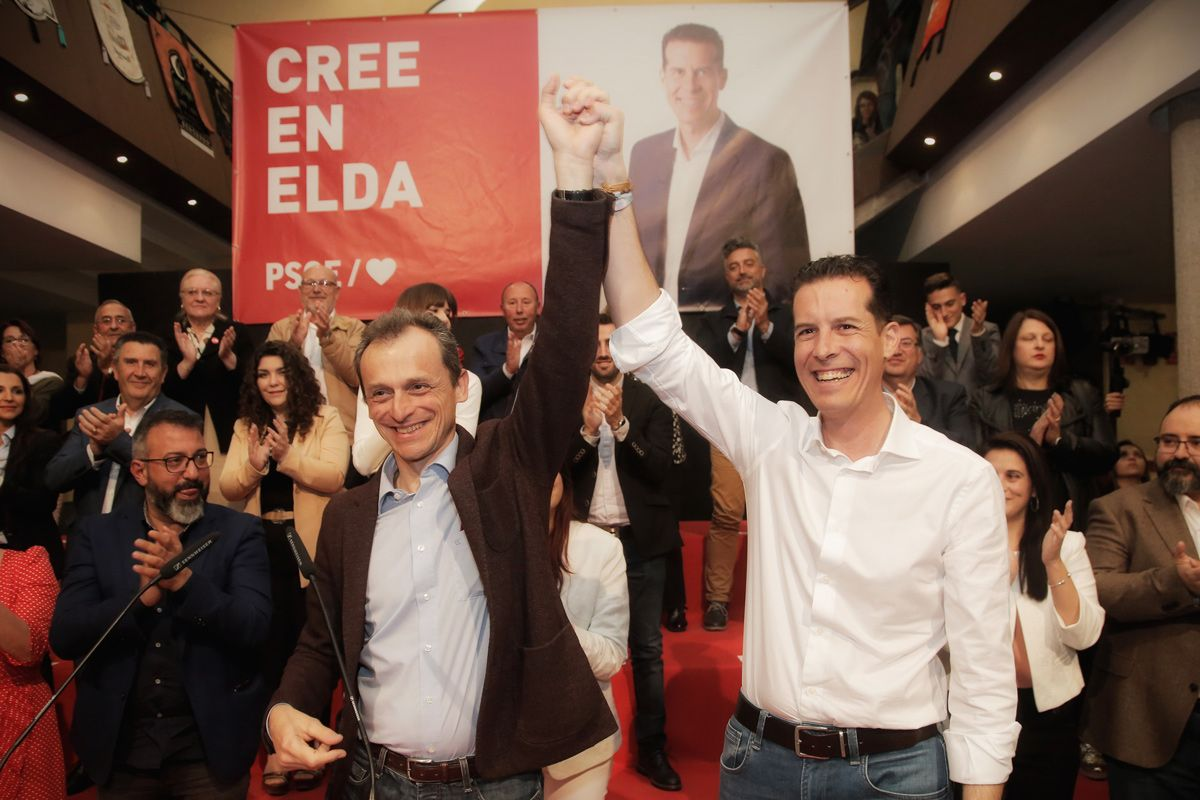 Pedro Duque - Rubén Alfaro - Elda 2019