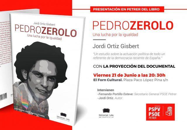 """presentación del libro """"Pedro Zerolo, una lucha por la igualdad"""""""
