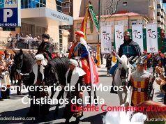 Desfile conmemorativo del 75 aniversario de los Moros y Cristianos de Elda