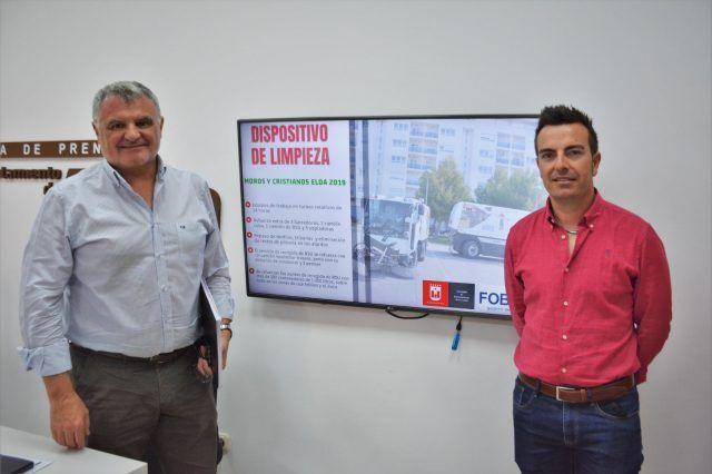 Limpieza Moros y Cristianos Elda 2019