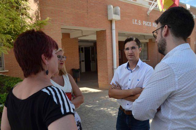 Plan Edificant para la mejora y reforma del Instituto Paco Mollá