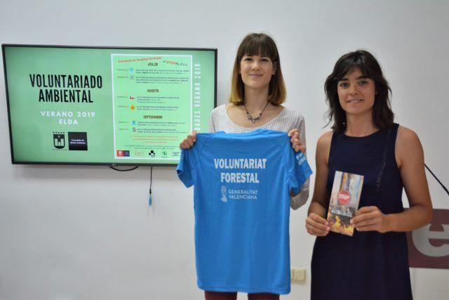 Voluntariado Ambiental de Elda para prevenir los incendios forestales