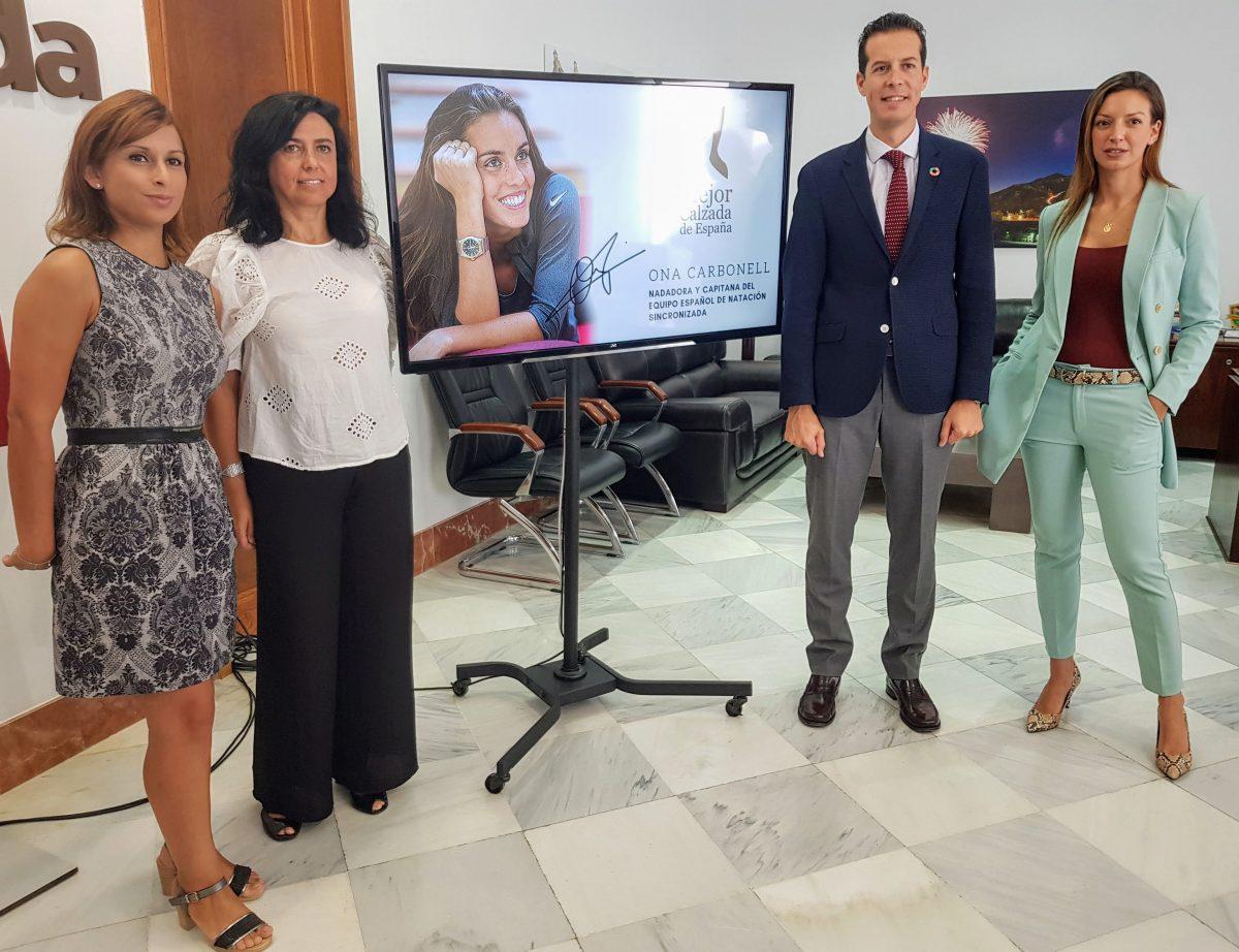 Presentación Ona Carbonell - Mejor Calzada de España 2018