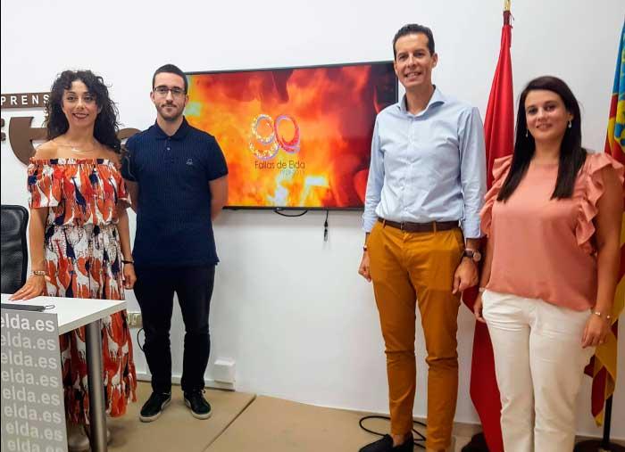 Presentación vídeo Fallas Elda 2019
