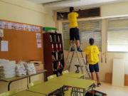 Reparaciones en diferentes centros educativos de Elda