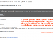 Email Fraude Hacienda Renta 2018