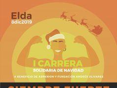 Carrera Solidaria de Papa Noel Elda