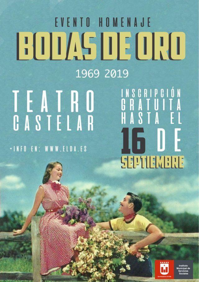 Gala Bodas de Oro en 2019 Elda