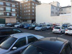 Parking de la calles Pintor Zurbarán con Elche, en Petrer