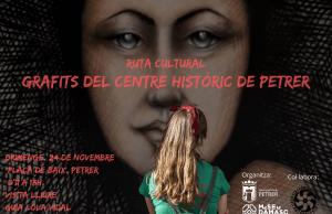 Ruta cultural para conocer los grafitis urbanos del centro histórico de Petrer