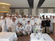 Alumnos de hostelería CIPFP VALLE DE ELDA