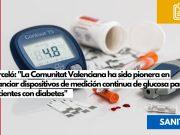 Monitor flash de glucosa financiado por Sanidad