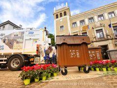 El contenedor marrón para resíduos orgánicos - Elda