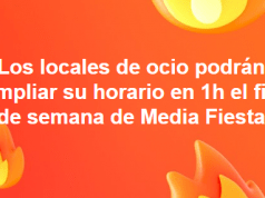Los locales de ocio de Elda podrán ampliar su horario en una hora durante el fin de semana de la Media Fiesta