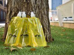 botellas rellenables para diluir el orín de animales