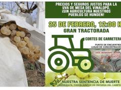 Gran tractorada Alicante