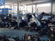 Almacén vehículos desguazados en Petrer