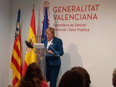 Ana Barceló - Consellera Sanitat Valenciana - Archivo