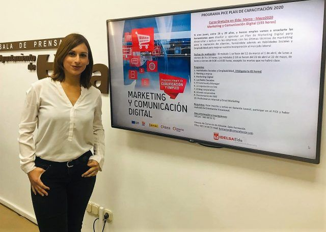 La concejala de Industria y Empleo, Silvia Ibáñez