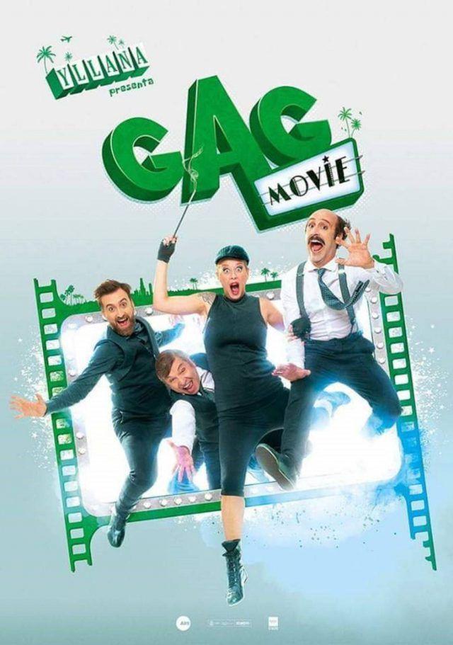 Gag Movie el 20 de febrero en Elda (Alicante)