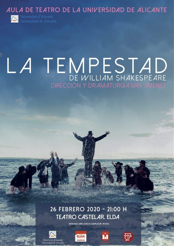 La Tempestad, de Shakespeare, el nuevo montaje del Aula de Teatro de la UA