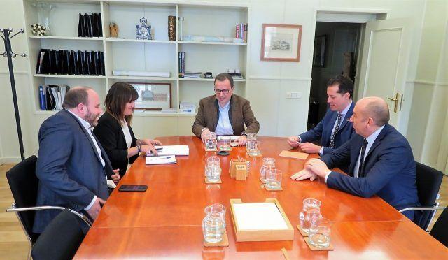 Rubén Alfaro Bernabé se ha reunido en Madrid con Julián López Milla, secretario de Infraestructuras
