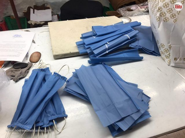 Aparadoras y modistas de Petrer y Elda se unen para fabricar mascarillas para el Hospital General de Elda-Petrer